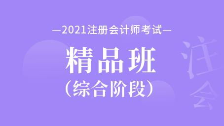 2021年注册会计师综合阶段精品班